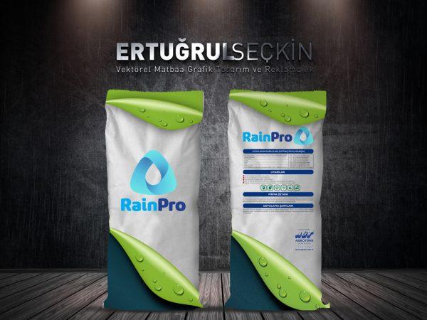 Agrotürk Gübre Firması Rain Pro ürün serisi tasarımı